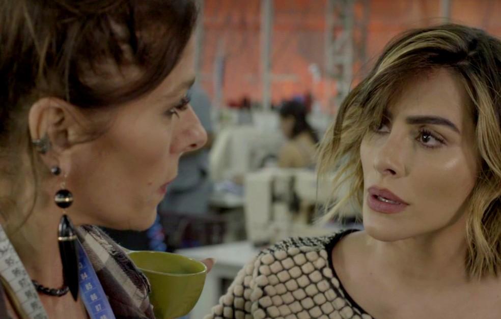 Agora é com você, Betina! (Foto: TV Globo)