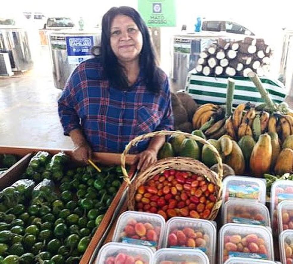 Terezinha era considerada uma figura de liderança da agricultura familiar de Nossa Senhora do Livramento, além de defensora das causas agrárias (Foto: Divulgação)