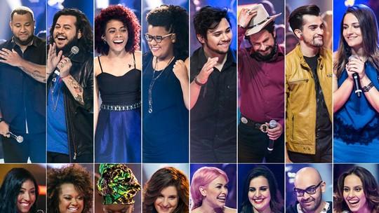 Relembre os 16 participantes que passaram direto pela Rodada de Fogo no 'The Voice'