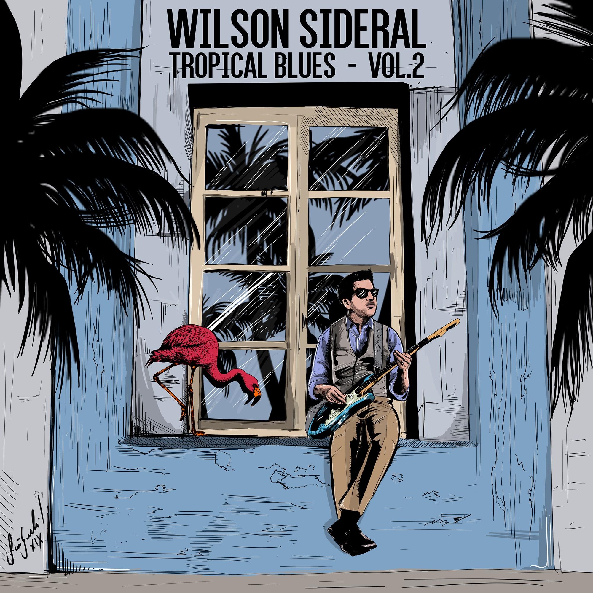 Wilson Sideral pousa na 'sopa' de Raul Seixas com o tempero do blues