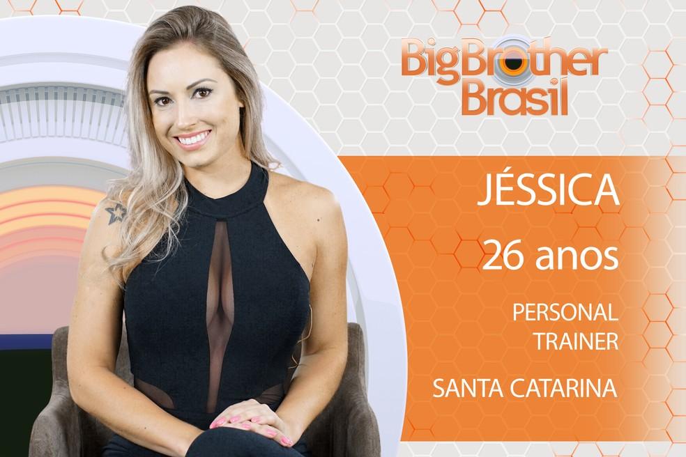 Jéssica é participante do BBB18 (Foto: TV Globo)