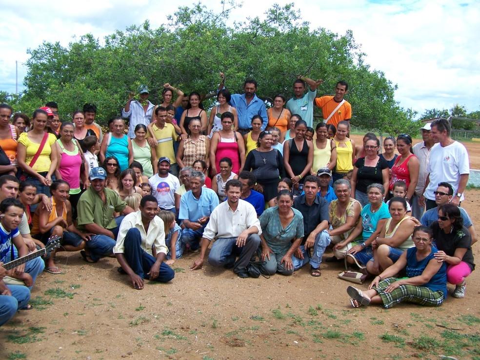 Integrantes da Coopercuc no dia da eleição de Denise Cardoso, em 2016 — Foto: Arquivo pessoal/Denise Cardoso