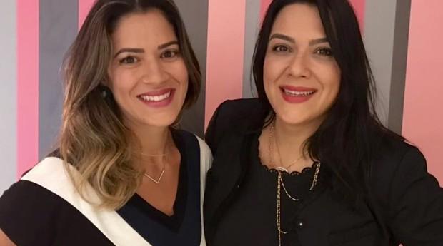 Thais Cunha e Lucia Cunha são sócias e proprietárias da loja Corset Lingerie (Foto: Divulgação)