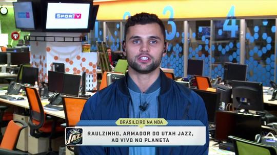 Raulzinho promove clínica da NBA em São Paulo e mira nova temporada no Jazz