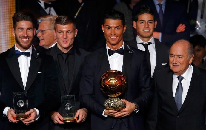 cristiano ronaldo bola de ouro (Foto: Reuters)