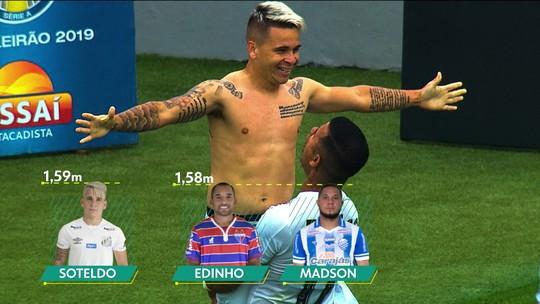 Messi, medicina e família: como Soteldo cresceu (literalmente) até o sucesso no Santos de Sampaoli