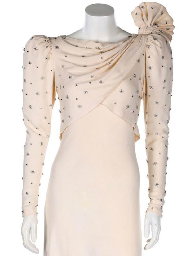 Vestido que foi usado pela Princesa Diana (Foto: Divulgação)