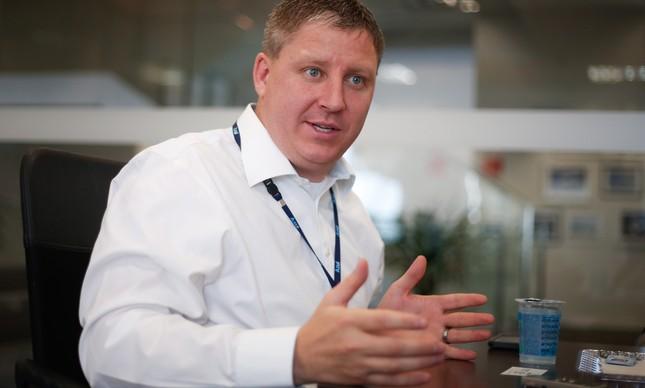 John Rodgerson, CEO da Azul