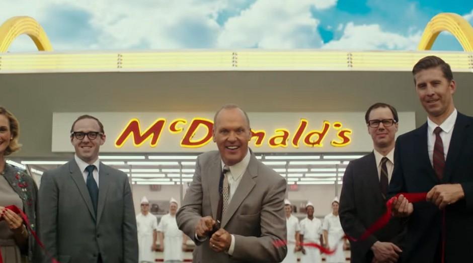 Cena do filme Fome de Poder, sobre a história do McDonald's (Foto: Reprodução/Youtube)