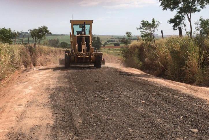 Oito vicinais da região de Presidente Prudente são incluídas em nova fase de programa de recuperação de estradas