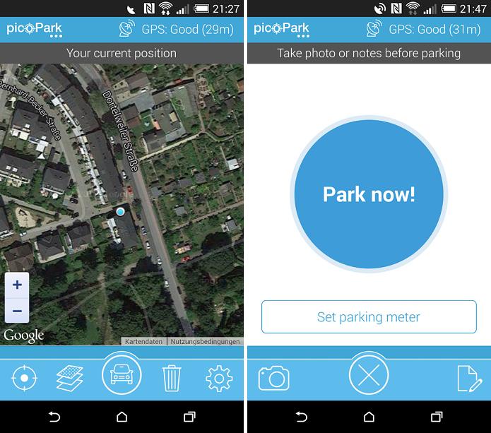 picoPark é um app para encontrar o carro no estacionamento (Foto: Reprodução/picoPark)