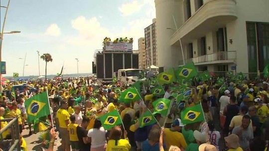 Manifestantes fazem atos em apoio à Lava Jato e ao ministro Moro