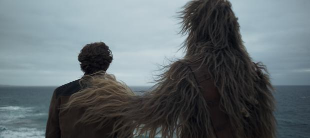 Han Solo e Chewie: o início da amizade (Foto: Divulgação/Disney)