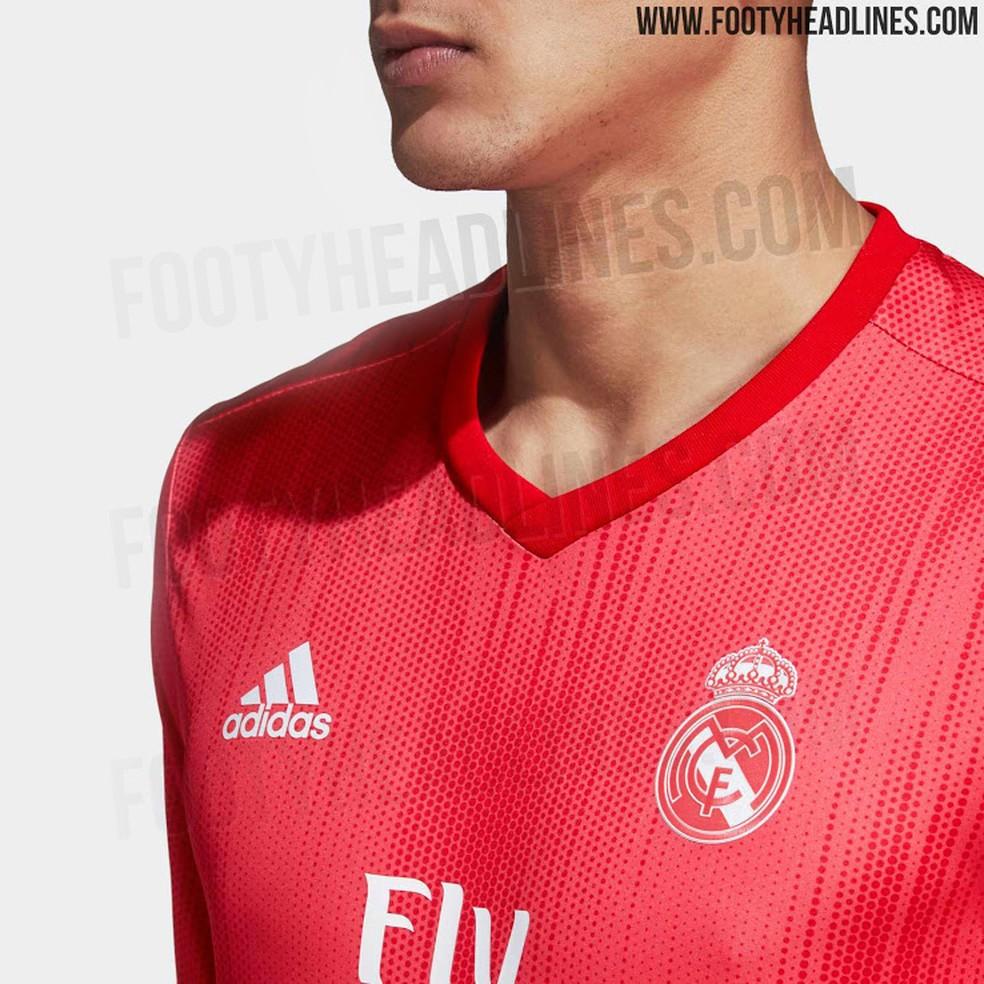5e7dfde65 Vaza o novo terceiro uniforme do Real Madrid para 2018 2019  confira ...