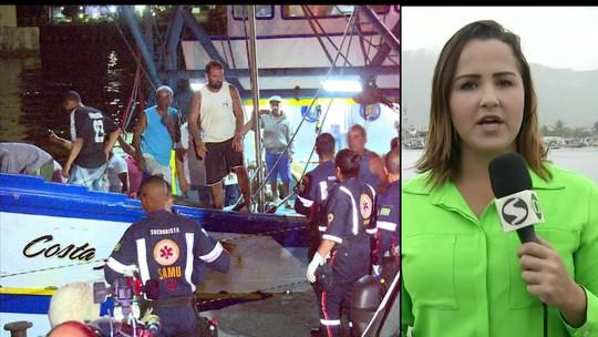 Dois corpos são resgatados de naufrágio com embarcação na Costa Verde; três pessoas seguem desaparecidas