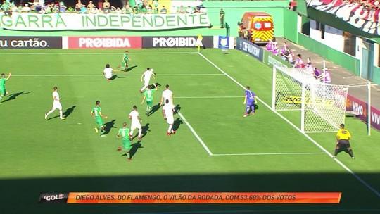 Diego Alves mostra reflexo apurado e ganha enquete de defesa da rodada