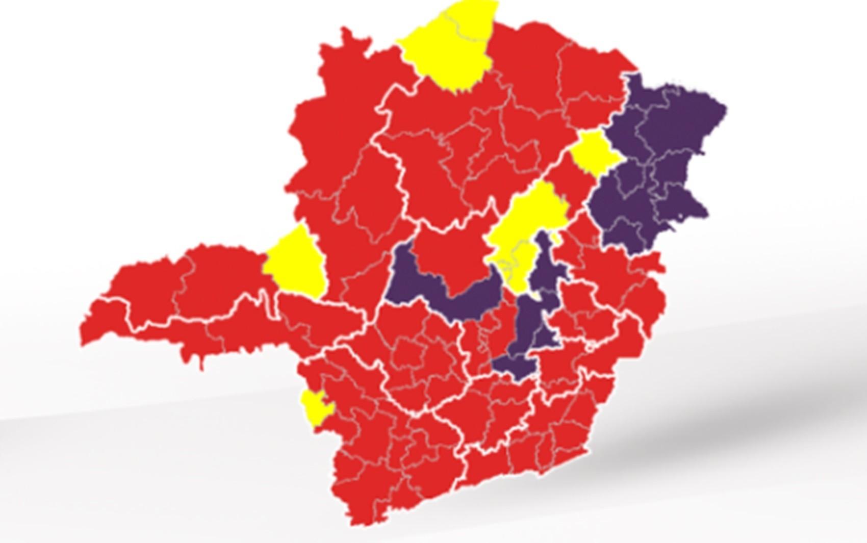 Microrregião de Patrocínio e Monte Carmelo avança para Onda Amarela; Triângulo e Noroeste permanecem na Vermelha