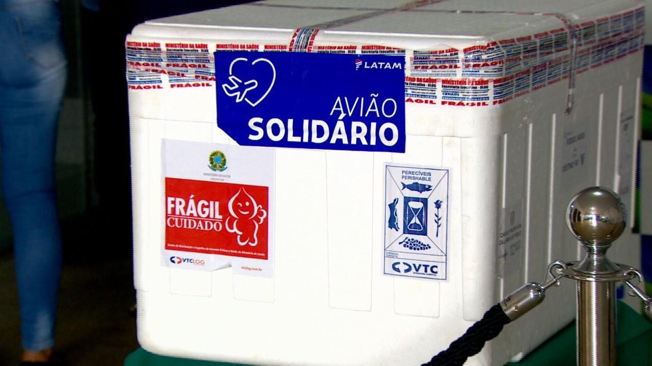 Rondônia recebe e distribui mais 7.500 doses de vacina CoronaVac