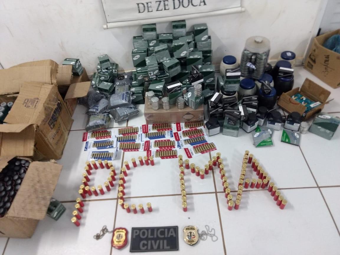 Homem é preso suspeito de comercializar armas de fogo em Zé Doca