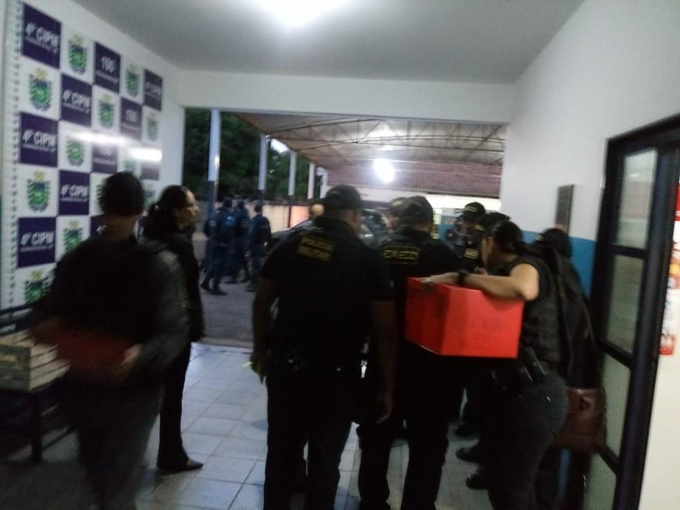 Cerca de 21 mandados de prisão foram cumpridos no interior de MS (Foto: Polícia Militar/Divulgação)
