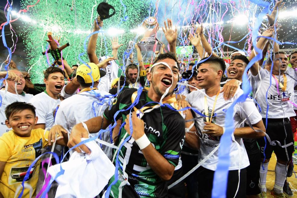 O Manaus é o atual campeão amazonense (Foto: Antônio Lima/Sejel)