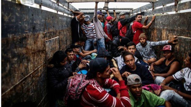 A América do Sul assiste a uma onda migratória de venezuelanos (Foto: Getty Images/BBC)