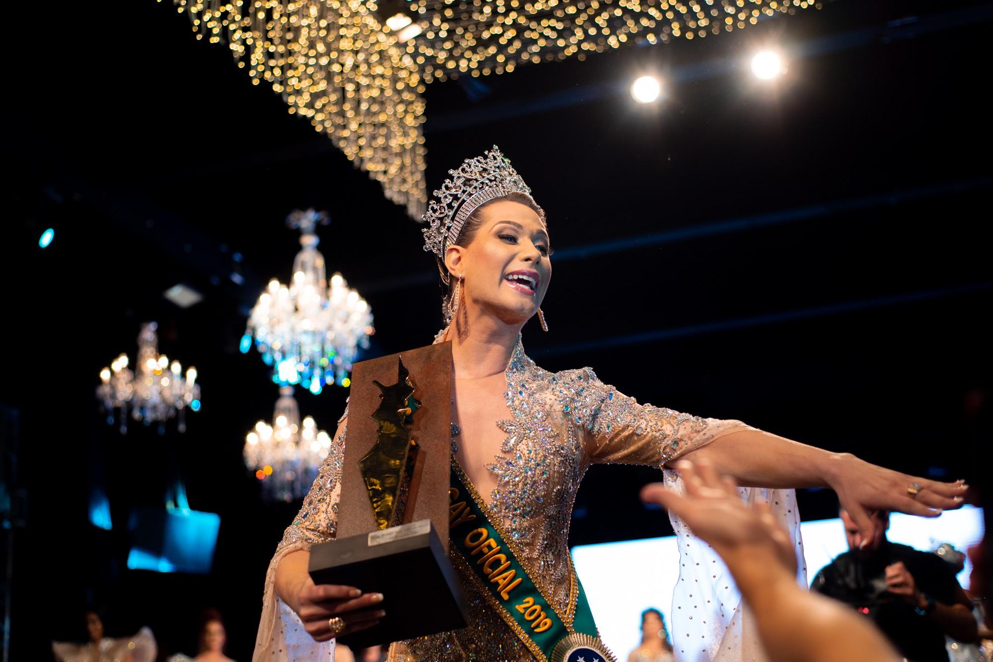 Antonia Gutierrez, representante de Pernambuco, é eleita Miss Brasil Gay 2019  - Notícias - Plantão Diário