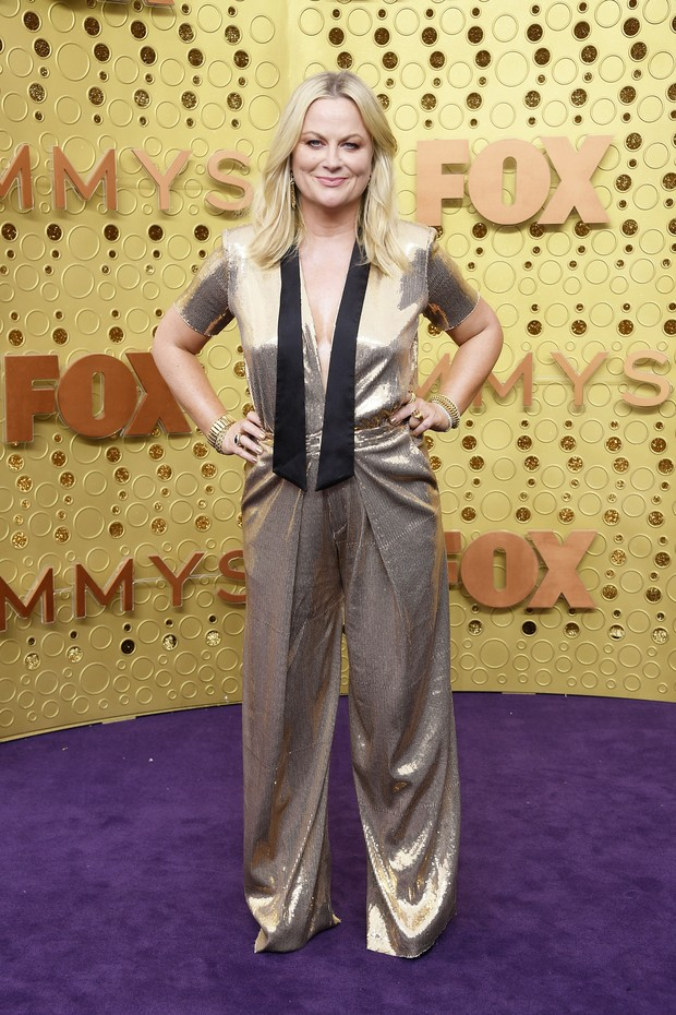 Amy Poehler usa Greta Constantine (Foto: Getty Images)