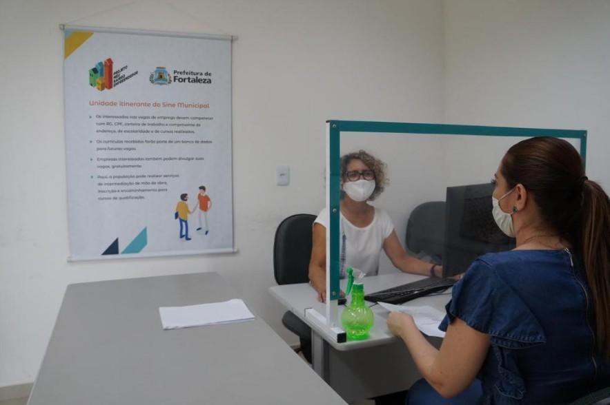 Sine Municipal oferta 327 vagas de trabalho em Fortaleza; veja quais são