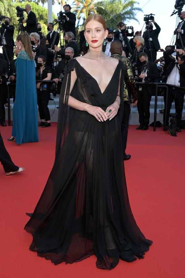 Marina Ruy Barbosa no Festival de Cannes 2021 (Foto: Getty Images )