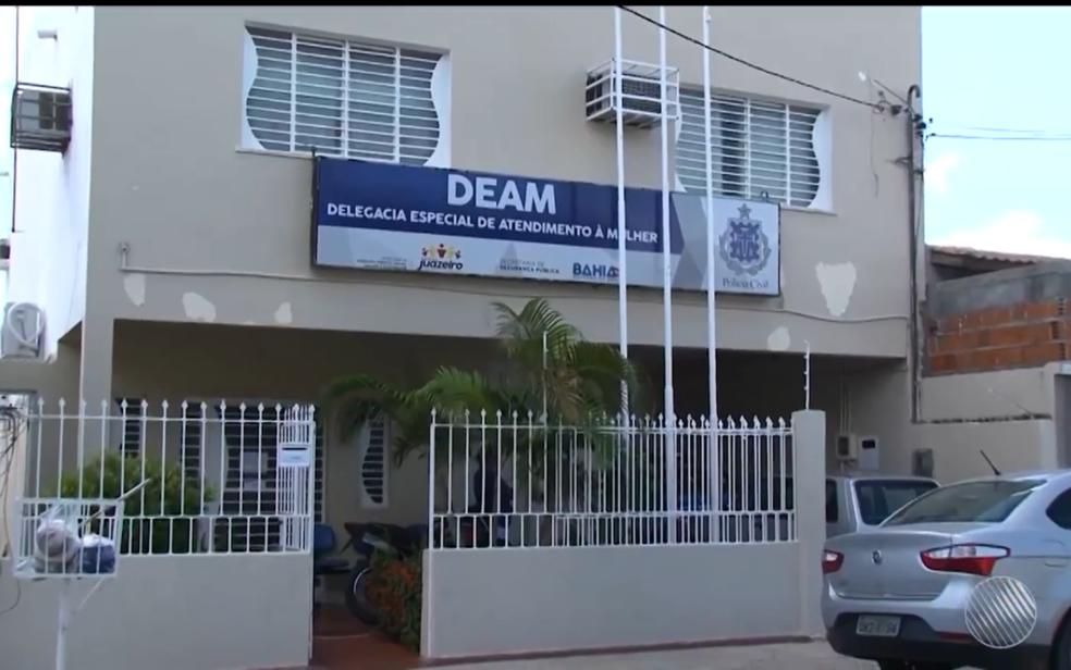 Caso foi registrado na Deam de Juazeiro (Foto: Reprodução/ TV São Francisco)