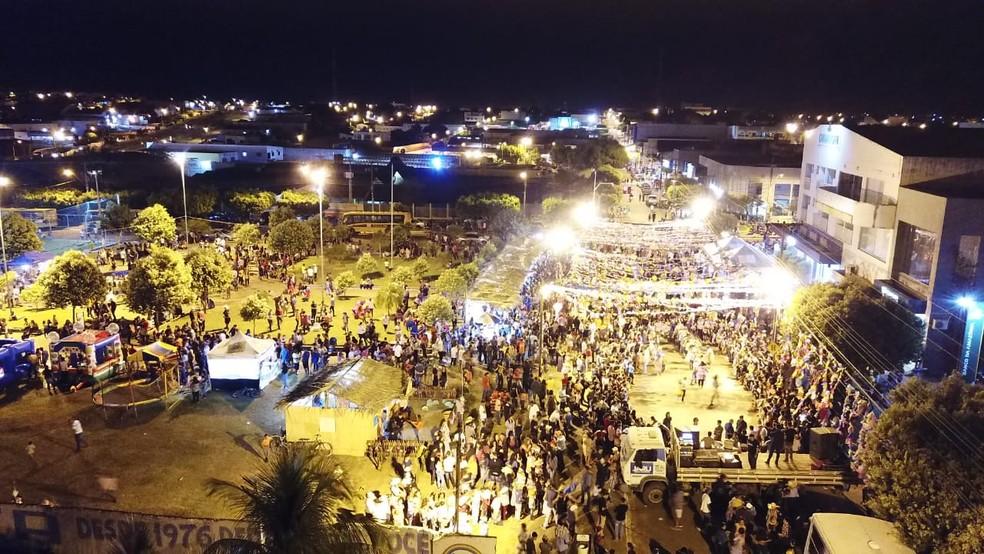 Organização acredita que cerca de 4 mil pessoas tenham passado pelo local (Foto: Prefeitura de Jaru/ Divulgação)