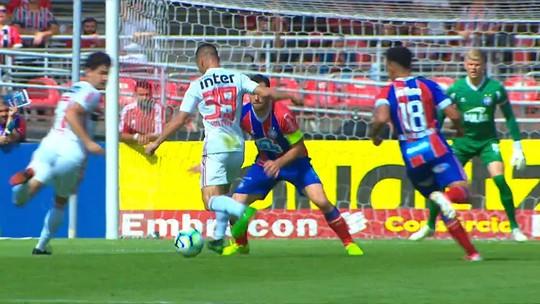 Veja o melhores momentos do empate entre São Paulo e Bahia