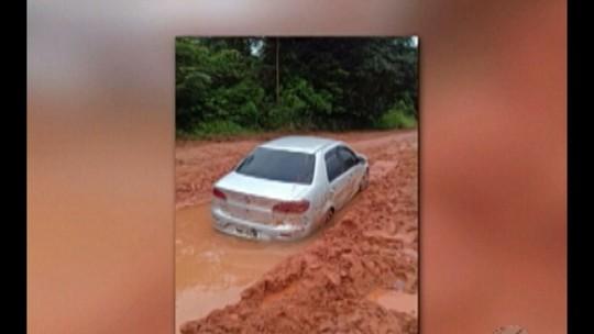 Casal é encontrado morto dentro de carro atolado na Transamazônica no Pará