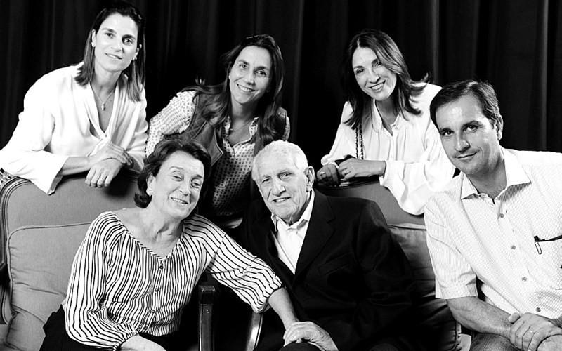 Ruy Moraes Terra, um dos pioneiros na criação de cavalos Quarto de Milha, morreu aos 92 anos (Foto: ABQM/Divulgação)