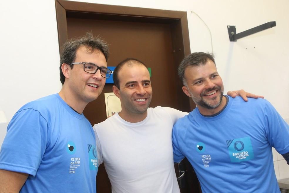 O '7º Mutirão Diabetes' e o 'Retina do Bem' acontecem no próximo sábado (9) — Foto: Divulgação/RPC