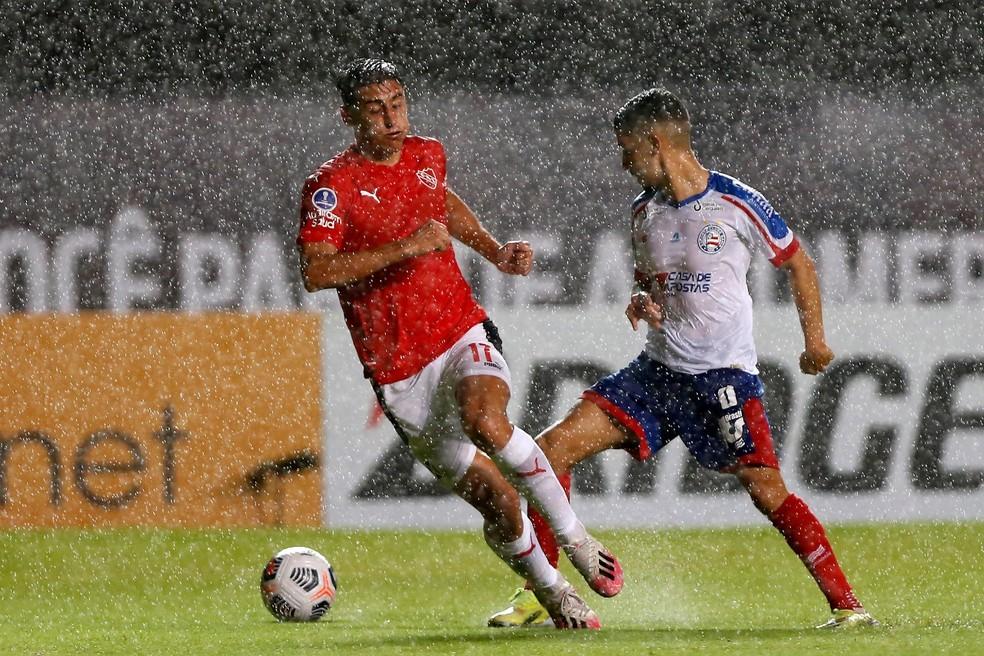 Bahia tem chances remotas de conseguir a classificação na Sul-Ameriana — Foto: Felipe Oliveira/EC Bahia