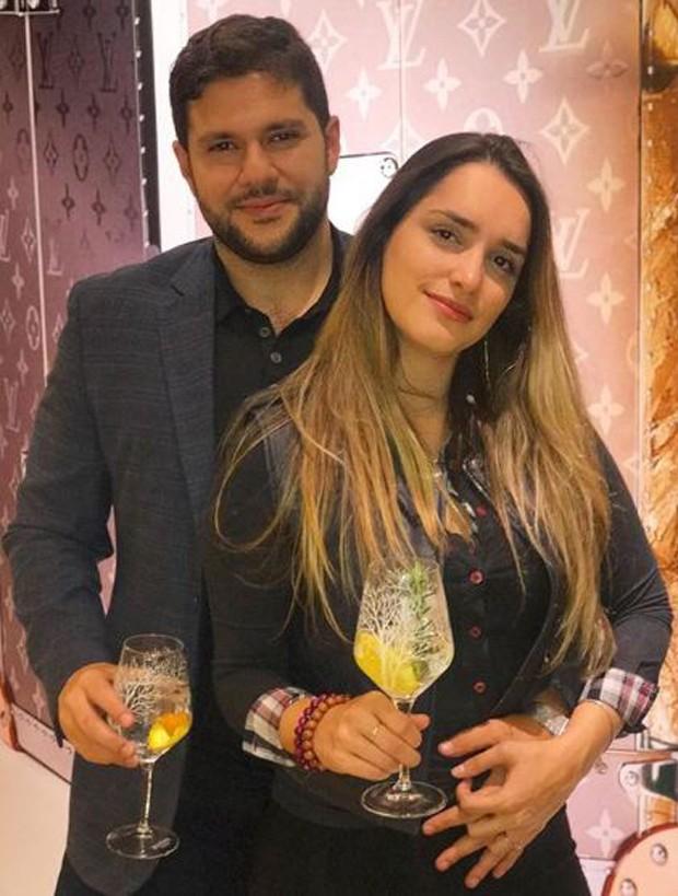 Laís Yasmin e o noivo, Milton Neves Netto (Foto: Reprodução/Instagram)