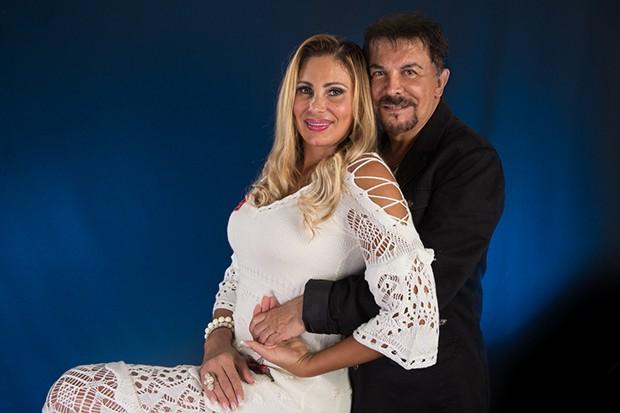 Wagner de Moraes e Ângela Bismarch (Foto: Marcus Monnerat/ Divulgação)