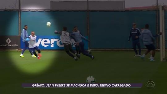 Entre preocupação e esperança, Grêmio vive incerteza para ter Jean Pyerre e Luan em decisão