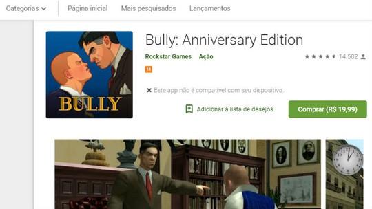 Bully Anniversary Edition   Jogos   Download   TechTudo