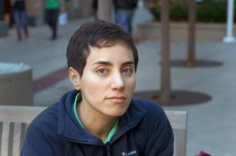Maryam Mirzakhani em 2014, ano em que ganhou a Medalha Fields (Foto: Stanford University)