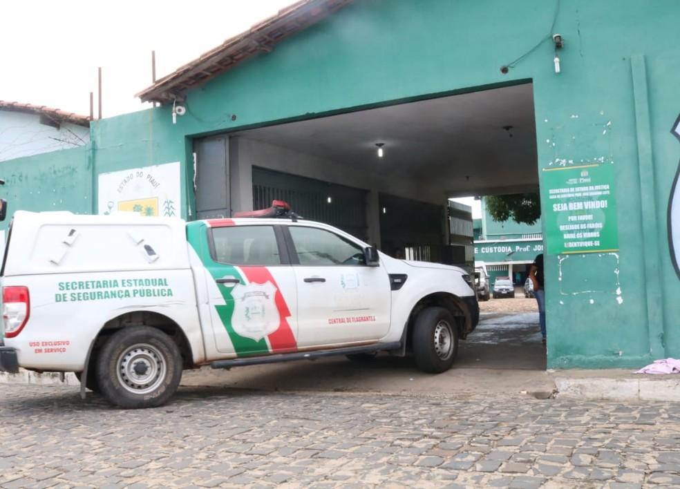 Casa de Custódia de Teresina (Foto: Catarina Costa/G1)
