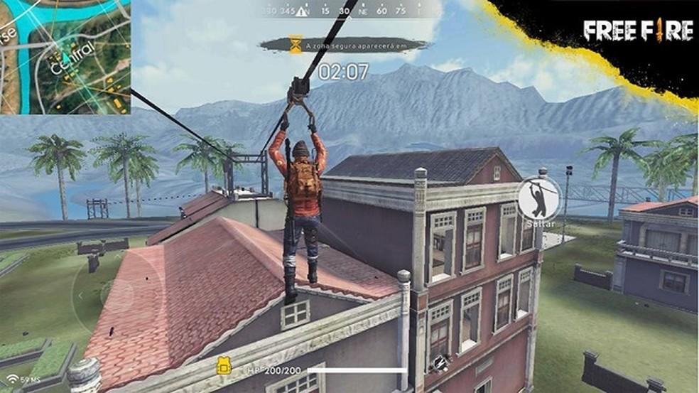 Free Fire já chamou a atenção dos jogadores logo na fase beta � Foto: Divulgação/Garena