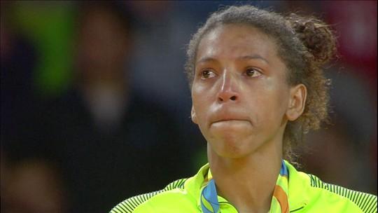 Judoca Rafaela Silva é flagrada no antidoping