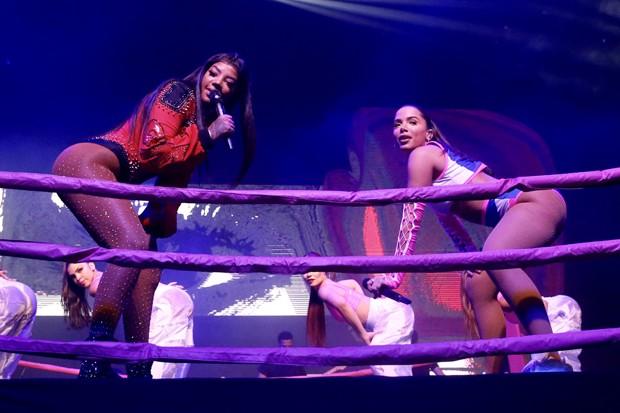 Anitta e Ludmilla (Foto: Manuela Scarpa / Brazil News)