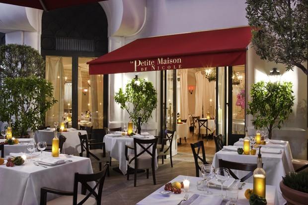 O restaurante La Petite Maison de Nicole (Foto: Divulgação)