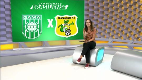 Gama e Brasiliense vencem e voltam a decidir título do Candangão após oito anos
