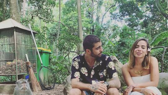 Anitta brinca com Luciano Huck e admite ter senha do celular de Pedro Scooby: 'Óbvio'