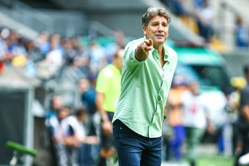 Renato foi Campeão da Libertadores do ano passado com o Grêmio. É ídolo do clube gaúcho (Foto: Lucas Uebel/Divulgação Grêmio)